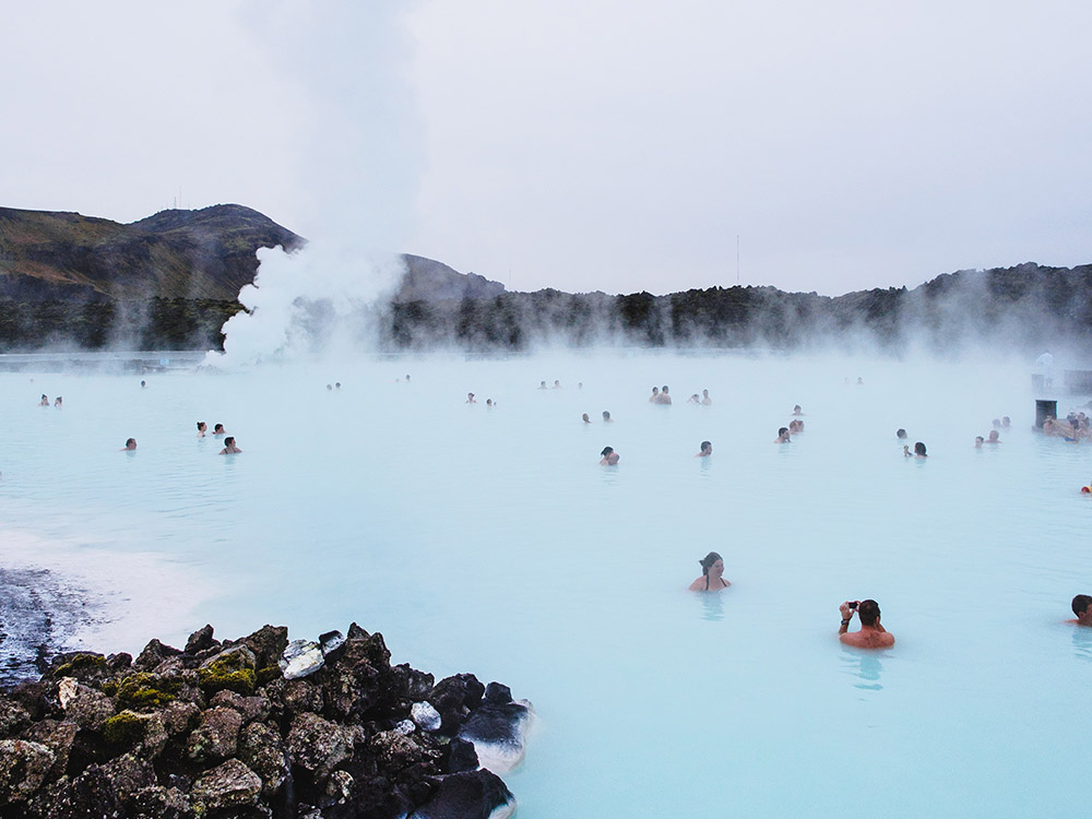 Take a dip into Iceland's Blue Lagoon